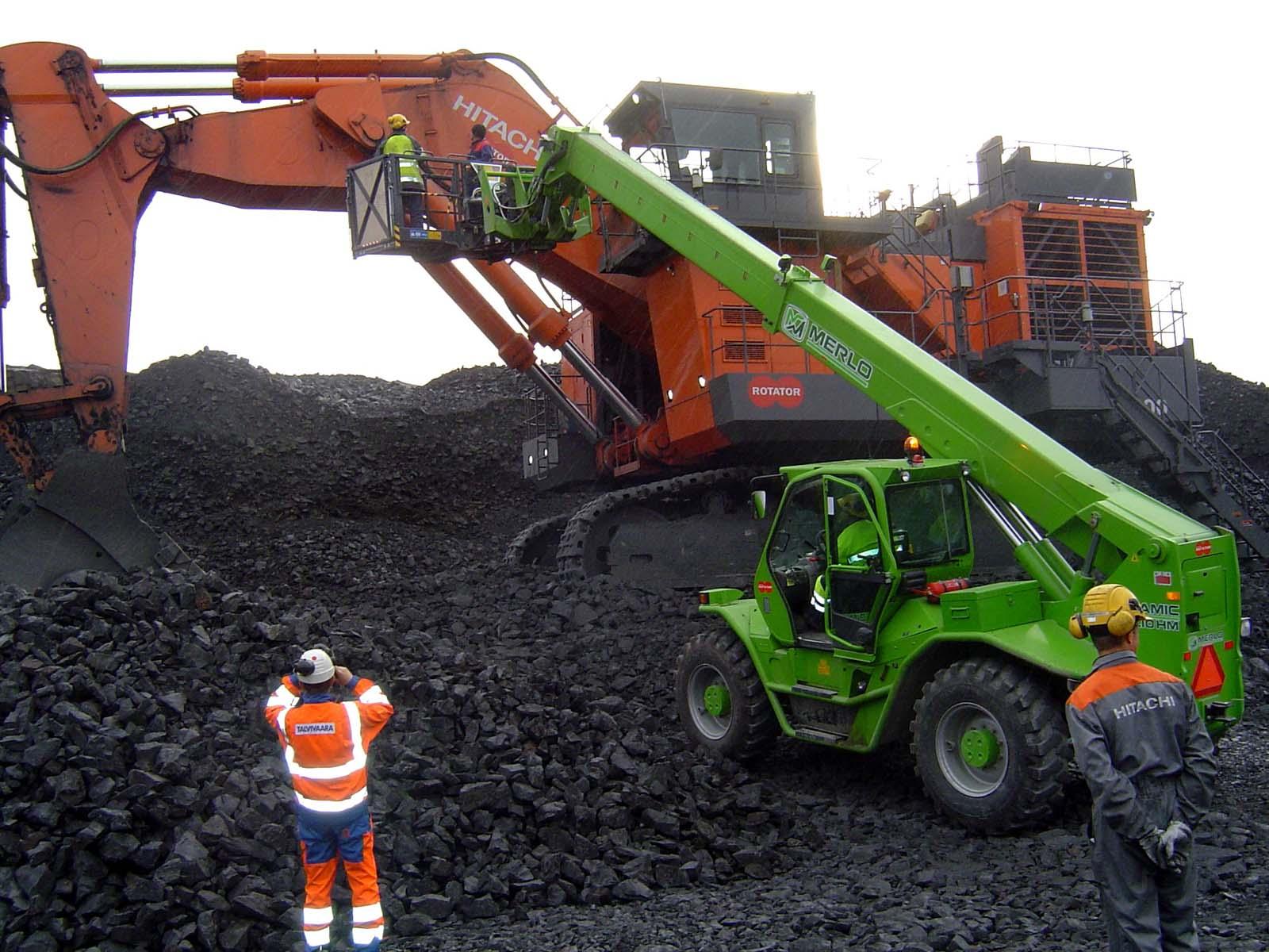Работа в шахтах и карьерах