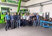 Прохождение технического курса модульный TURBOFARMER сельскохозяйственного назначения нашими сервисными специалистами на заводе группы MERLO