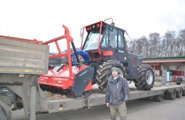 Лесной измельчительный комплекс TRE EMME MM180, восстановленный специалистами СМАРТ-М, отгружен крупному клиенту в Нижегородскую область