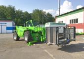 Новая поставка. P40.17EE c платформой для персонала и ковшом.